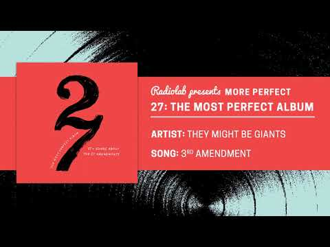 27: The Most Perfect Album | They Might Be Giants | 3rd Amendment