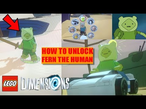 LEGO Dimensions: How to Unlock FERN THE HUMAN! FERN GAMEPLAY!