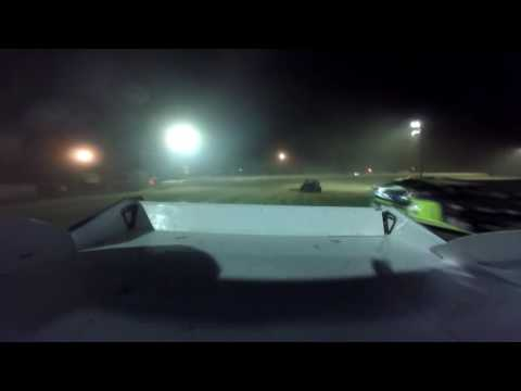 10 8 16 Deerfield Raceway E Mod feature on backward facing Go Pro