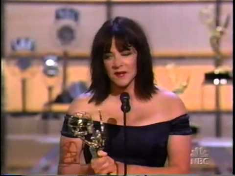Stockard Channing wins 2002 Emmy Award for Supporting Actress in a Drama Series