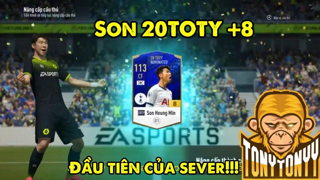 Farmer Tonyy Phá Đảo Game Với Siêu Phẩm Son Heung Min 20TOTY +8 Đầu Tiên Của Sever FO4 VN!