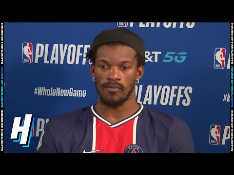 Jimmy Butler Postgame Interview - Game 1   Heat vs Pacers   August 18, 2020 NBA Playoffs