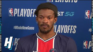 Jimmy Butler Postgame Interview - Game 1 | Heat vs Pacers | August 18, 2020 NBA Playoffs