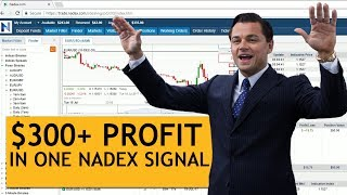 Nadex 98% Account Growth In 1 Hour (with 1 TMA Forex Signals)