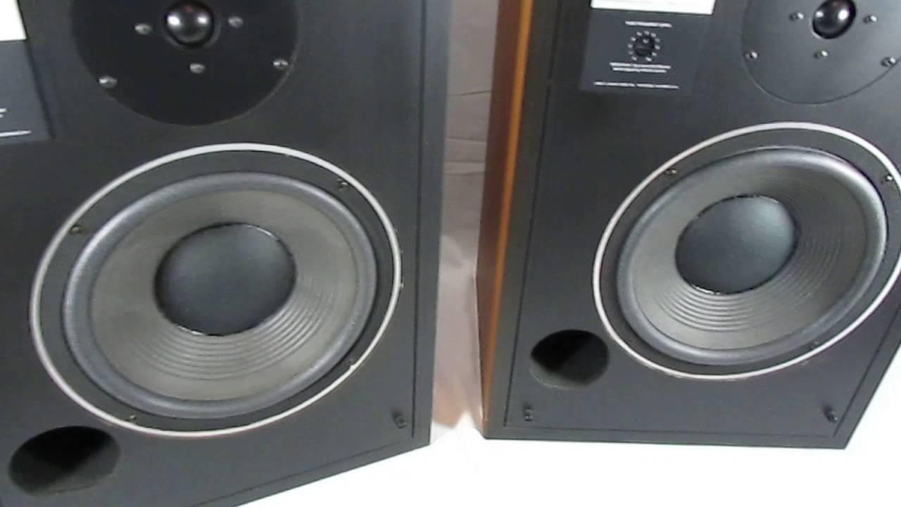 Vintage JBL L40 speakers #1~Rising Phoenix Antiques - YouTube