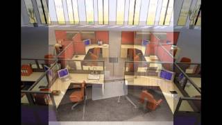 Designer Cubicles - Office Furniture - Demountable Partitions
