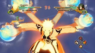Naruto Ultimate Ninja Storm 3 Full Burst Naruto Bijuu Mode Mod Gameplay (PC w SweetFX)