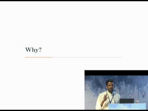 Image from Mentoring keynote Noufal Ibrahim