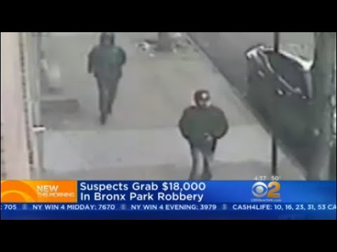 Police: Suspects Grab $18,000 In Bronx Park Robbery