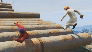 ROLLING PIPES CHALLENGE (GTA 5 Online)