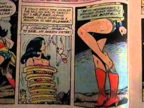 Wonder Woman takes off her Boots (mid