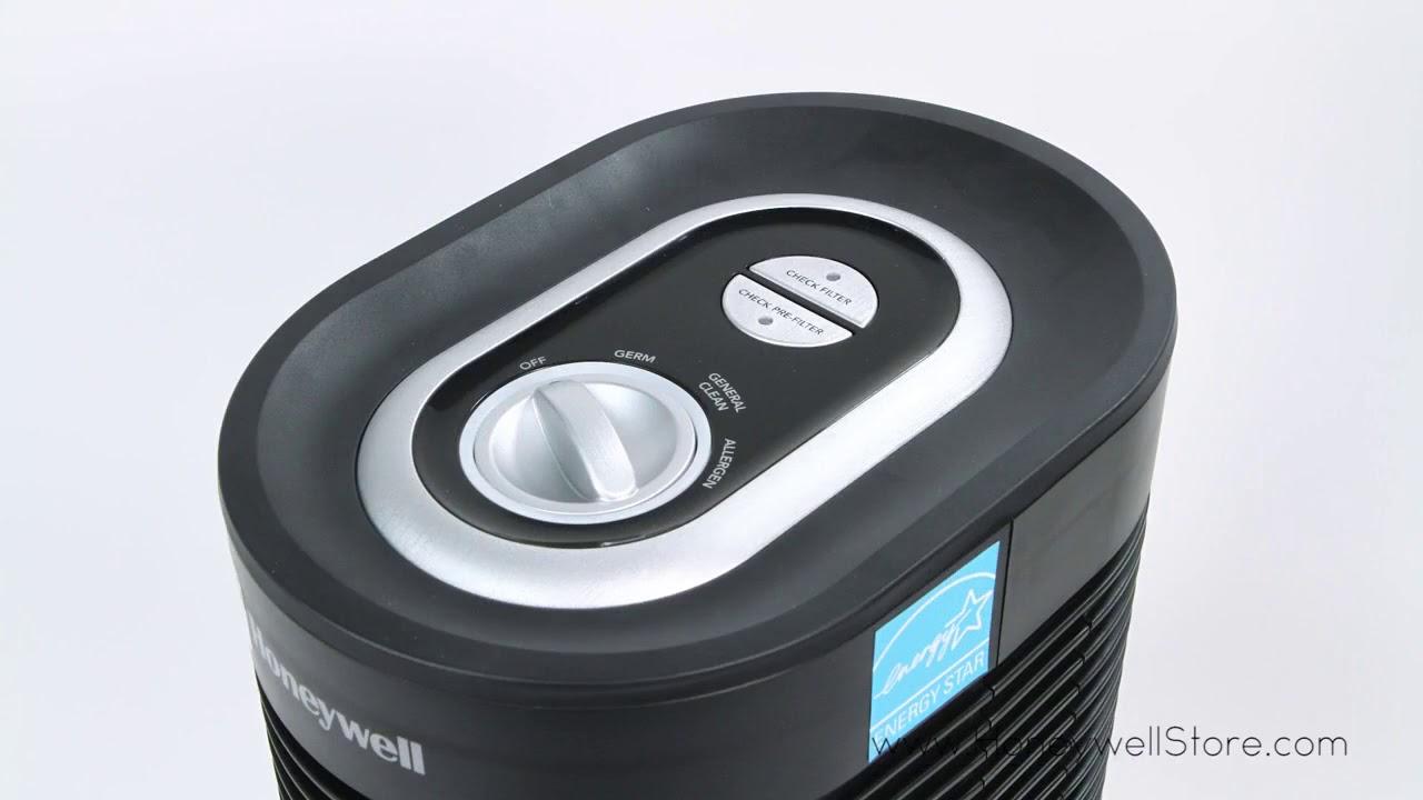 Honeywell True HEPA Compact Tower Air Purifier w Allergen