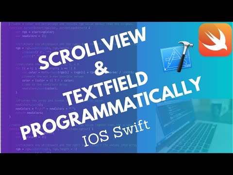how to use scrollview in swift 4 and xcode 10(with textfield view scroll up) thumbnail