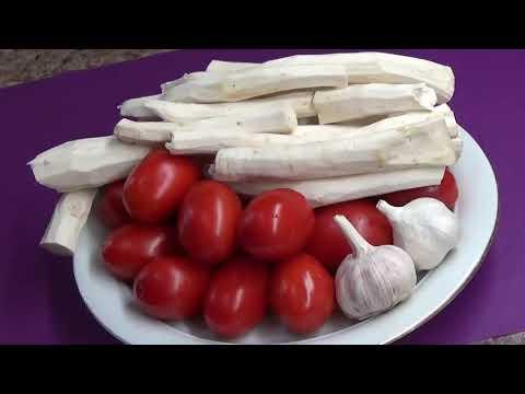 Хреновина с помидорами и чесноком Самый Вкусный рецепт