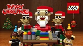 LEGO Christmas 2016 Elf Helpers Set Review & MERRY CHRISTMAS