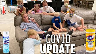 Family Reacts to Covid Diagnosis || Mommy Monday