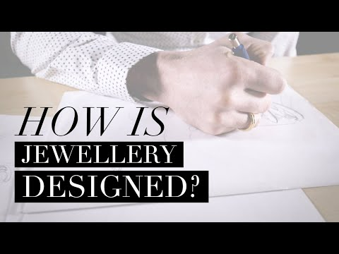 HOW IS JEWELLERY DESIGNED? The Burrells Bespoke Design Team