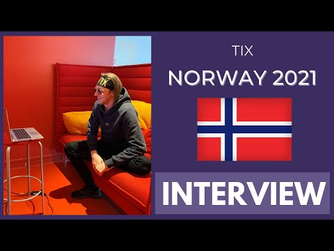 Eurovision 2021 Norway: TIX INTERVIEW w/ English subtitles