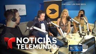 Shakira le dedica instrumento al violinista de las marchas en Venezuela