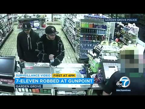 2 sought in Garden Grove 7-Eleven robbery | ABC7