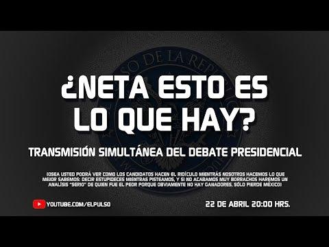 EL DEBATE PRESIDENCIAL #1 - EL PULSO DE LA REPÚBLICA