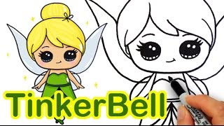 tinkerbell drawing lesson