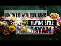 How To Eat With Your Hands Filipino Style Kamayan - Bamboo Bistro