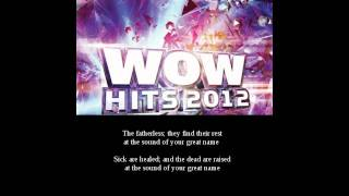 WOW HITS 2012 || Natalie Grant - Your Great Name || Lyrics || Disc 2 - Pist 12