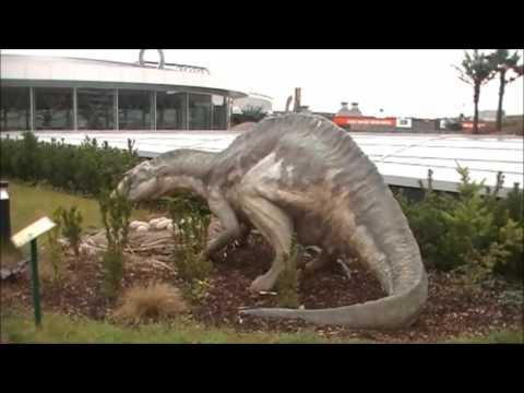 移動と移動恐竜と捕食者  第三部  先史時代  3  ジュラシック・パーク. Výstava dinosaurů DinoPark.