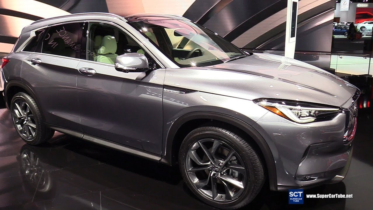 2019 infiniti qx50 pure exterior interior walkaround 2018 detroit auto show youtube. Black Bedroom Furniture Sets. Home Design Ideas