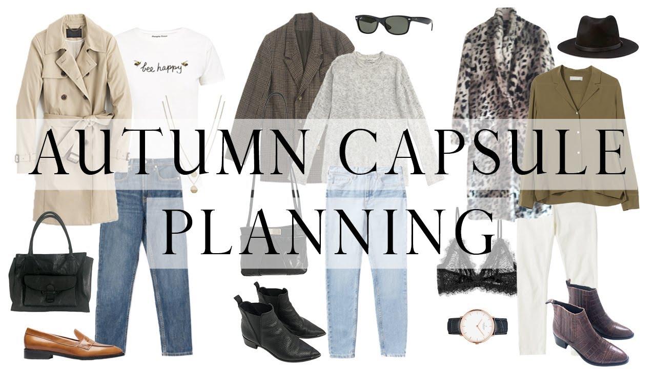 Autumn capsule wardrobe | Part 1:  visual idea and planning