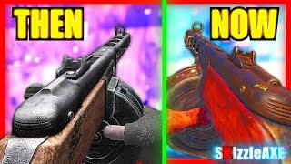WaW PPSH vs BO3 vs WW2 PPSH GAMEPLAY! COD WORLD WAR 2 PPSH GAMEPLAY GRAPHICS WEAPON COMPARISON