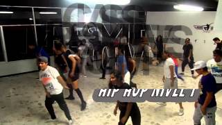 BLACK DANCE CLASE HIP HOP 1 =twista heartbeat=
