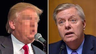 Donald Trump Breaks Lindsey Graham Like a Boy