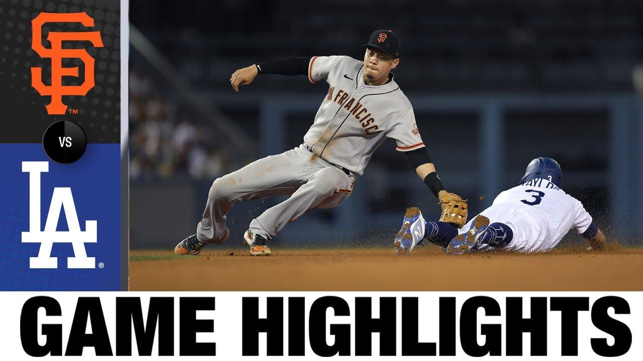 Download Giants vs. Dodgers Game Highlights (7/21/21) | MLB Highlights