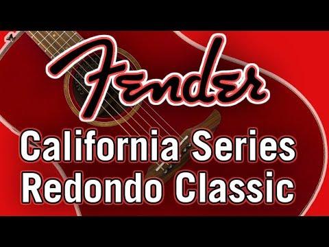 Fender California Series Redondo Classic Review & Demo
