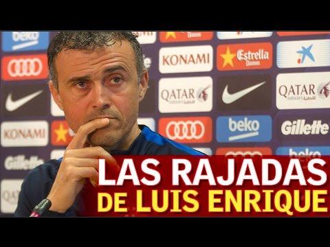 Las rajadas de Luis Enrique en rueda de prensa | Diario AS