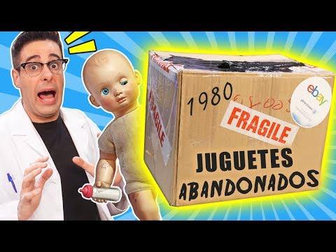 compro-lote-de-juguetes-abandonados-de-1980-📦❓-|-caja-misteriosa-de-ebay