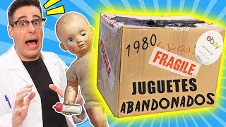 Compro LOTE DE JUGUETES ABANDONADOS de 1980 📦❓   Caja Misteriosa de eBay