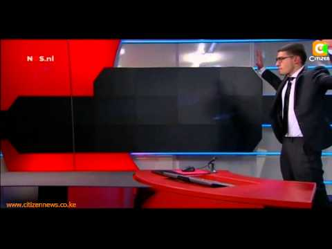 Dutch 19-Year Old Storms Netherlands TV Station's Studio, Demands Airplay
