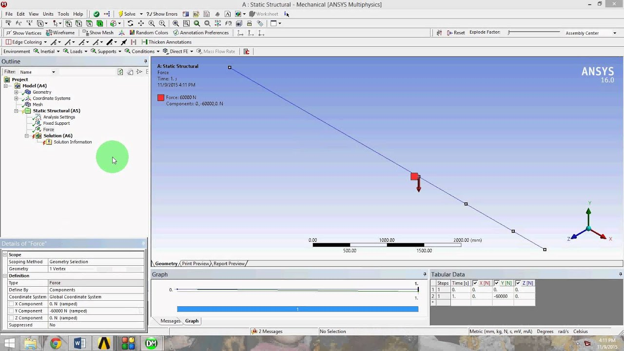 ansys cantilever beam analysis with bending moment diagram using rh youtube com software for drawing bending moment diagram Shear Force Diagram