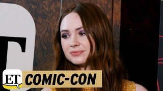 Comic-Con 2017: 'Guardians of the Galaxy' Star Karen Gillan on 'Doctor Who' Casting a Female Doc