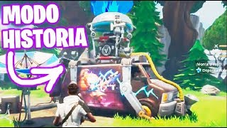 FORTNITE: History Mode !! #4 VOLADORA VAN!! Save the World Makigames