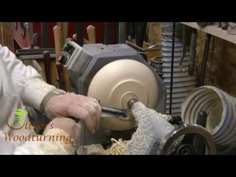 Olivers Woodturning - Learn to Turn Episode 2 - The Bowl Gouge and Basic Bowl Turning