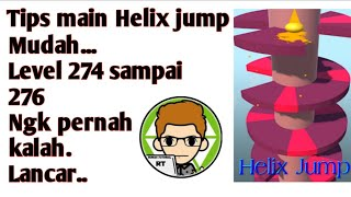 1 Tips dan trik ✔️ | terbaru helix jump 2018 - Watch Video