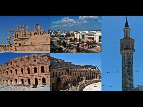 48. Τυνησία - Tunisia: El Djem, Tunisia, Souq, Arabic markets