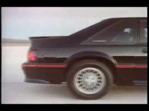 1987 Ford Mustang Gt 5 0 Commercial
