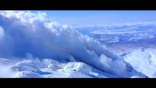 Фрирайд на Камчатке - горные лыжи, сноуборд