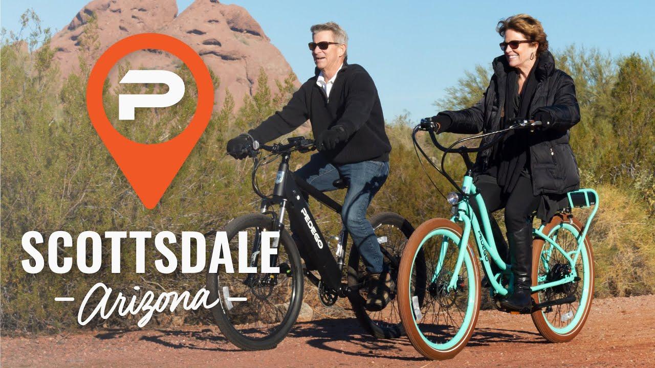 Pedego Scottsdale Electric Bike Store Scottsdale Arizona Youtube