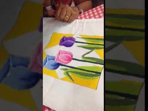 Craft Class Fabric Painting